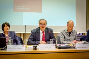 v.l.n.r. Antonia von der Behrens, Florian Ritter, Robert Andreasch
