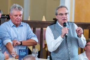 Ärmel hochkrempeln und anpacken für den Münchner Westen: Florian Ritter und Dieter Reiter