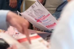 Vor Ort wurden auch Unterschriften für das Volksbegehren Pflegenotstand gesammelt
