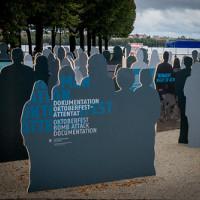 Neue Denkmal für die Opfer des Oktoberfestattentats