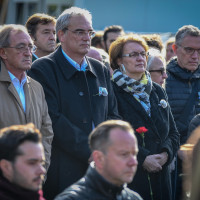 Florian Ritter, Landtagsabgeordneter BayernSPD bei der jährlichen Gedenkveranstaltung Oktoberfestattentat