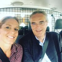 Verena Schmidt-Völlmecke und MdL Florian Ritter