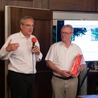MdL Florian Ritter und Thomas Kranig, Präsident des Landesamtes für Datenschutzaufsicht