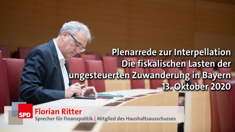 """Rede zur Interpellation der AfD """"Kosten der Zuwanderung"""""""